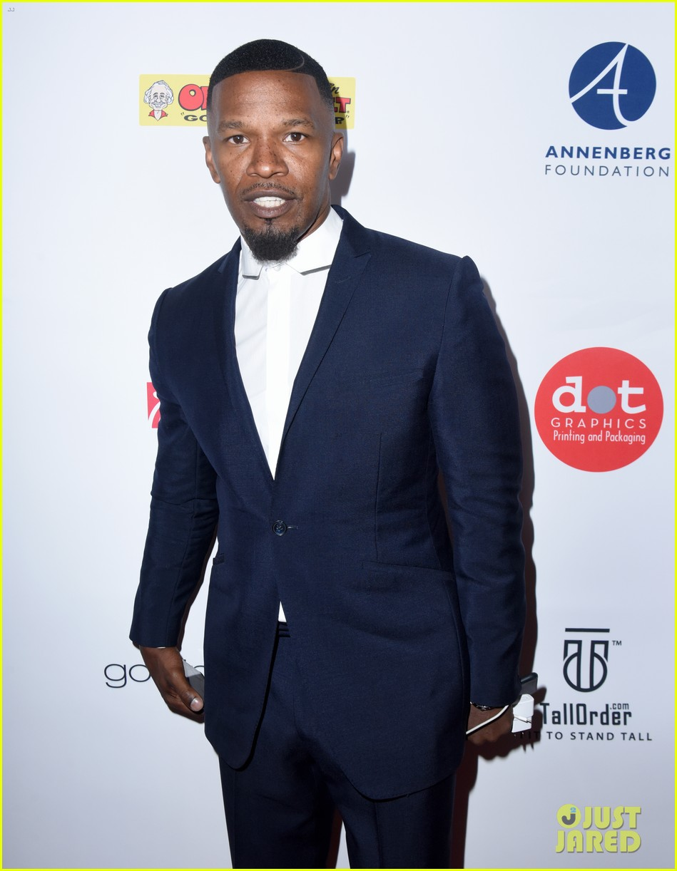 jamie foxx anthony anderson charity event 053941103