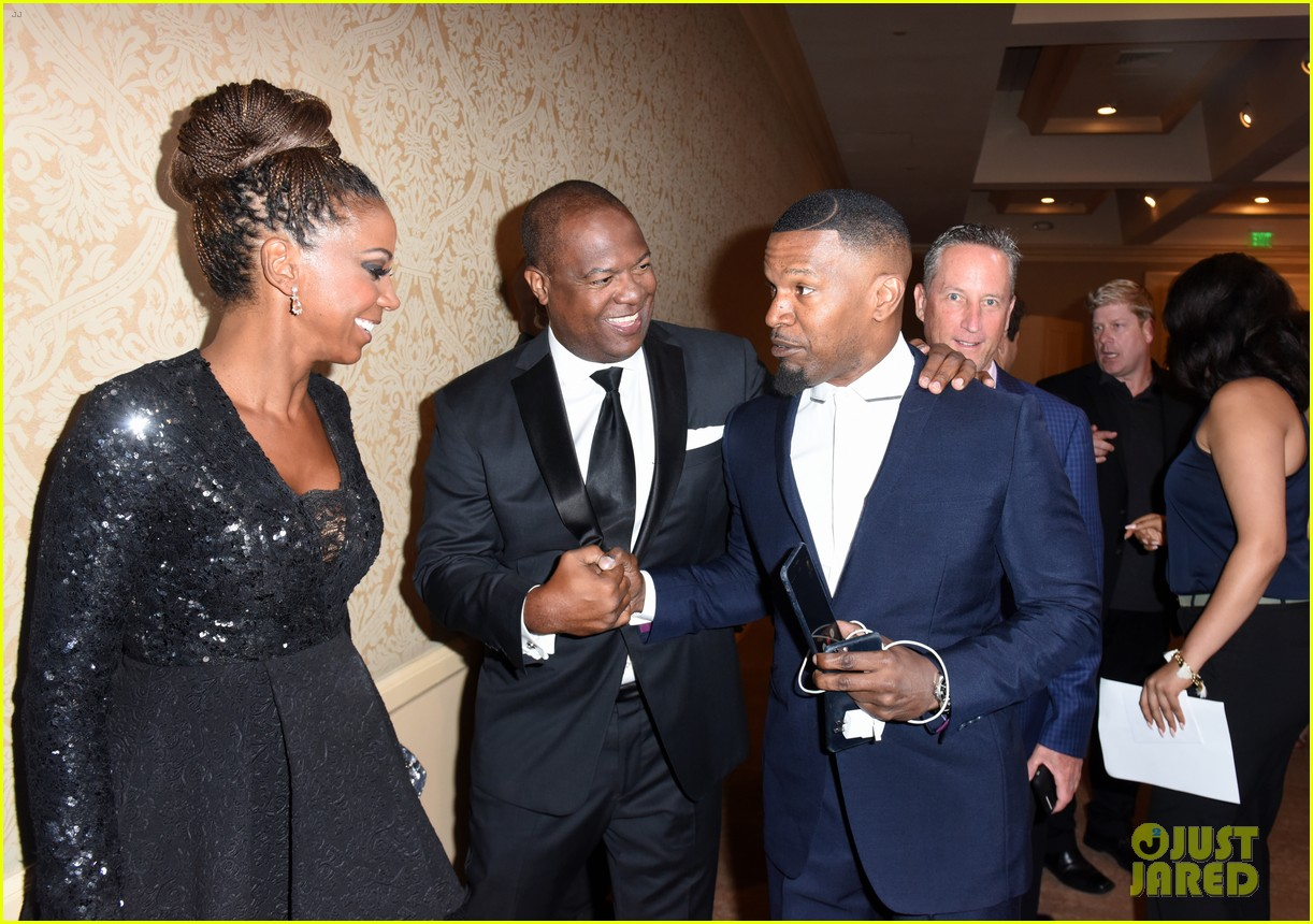 jamie foxx anthony anderson charity event 073941105