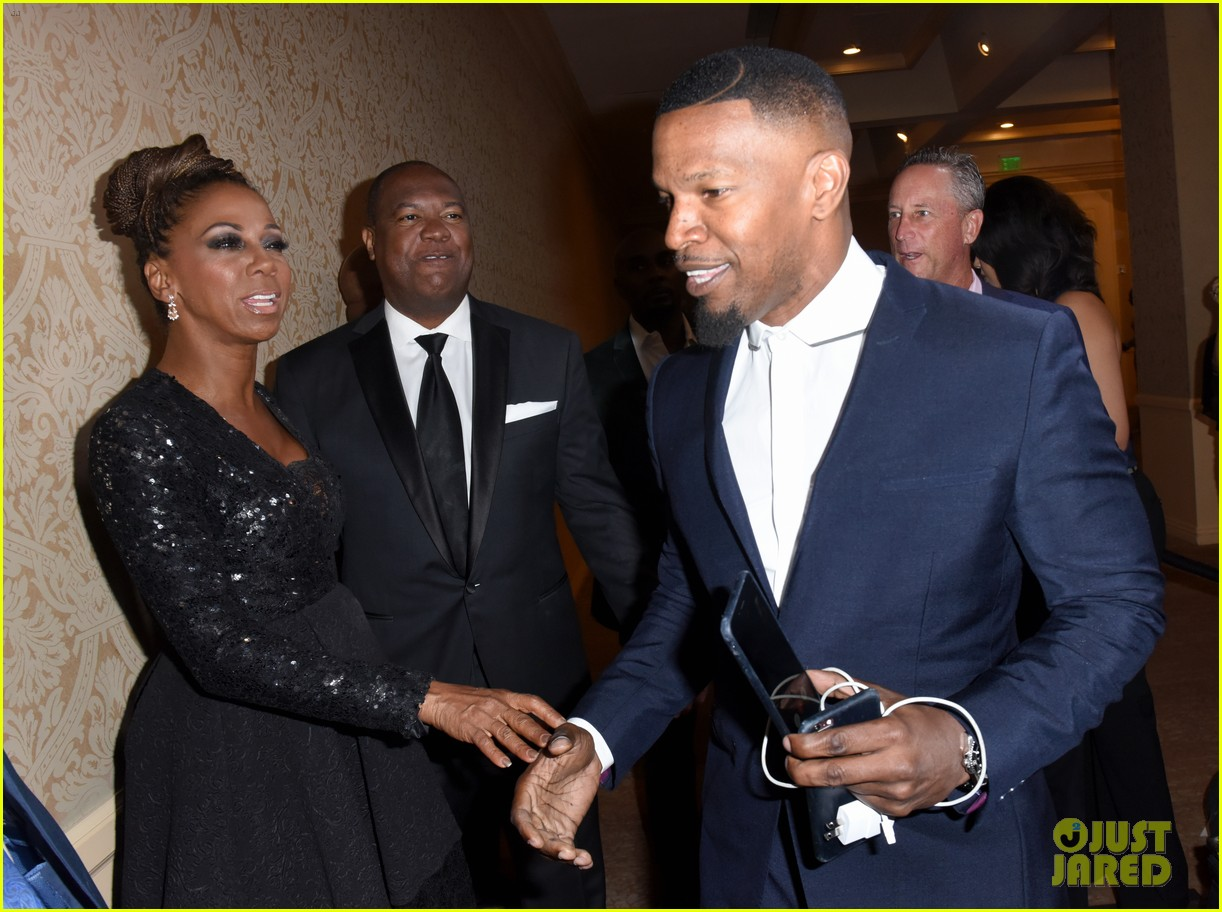 jamie foxx anthony anderson charity event 083941106