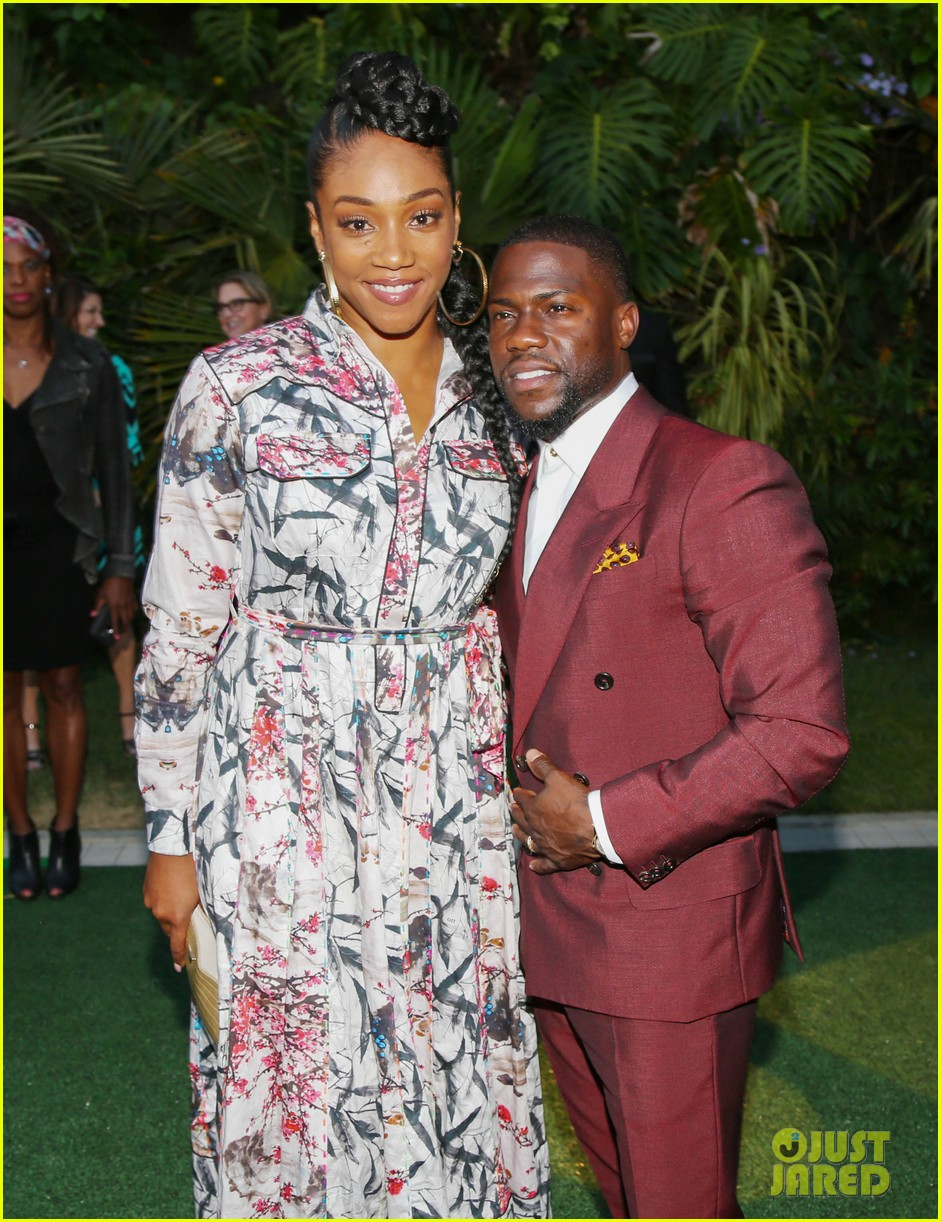 kevin hart pregnant wife eniko parrish celebrate laugh out loud launch 263937825
