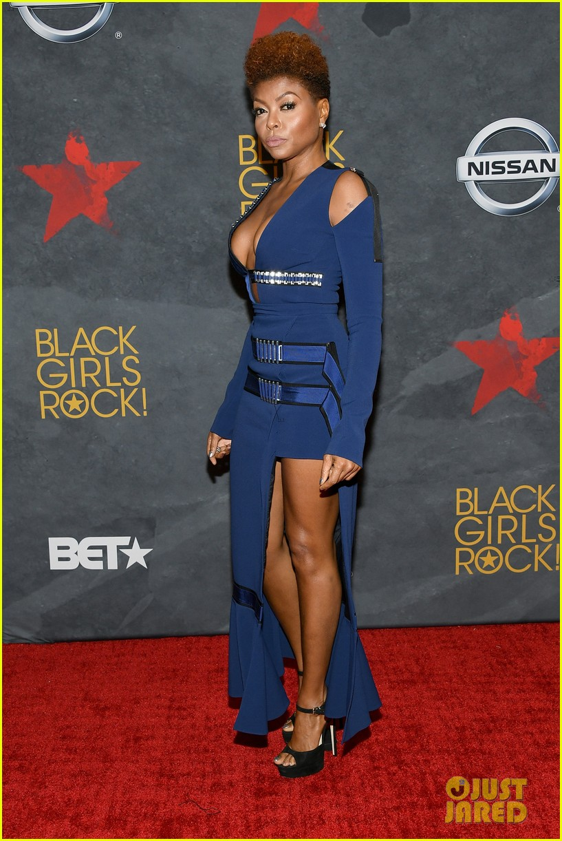 taraji joins anthony anderson at black girls rock event 083938106