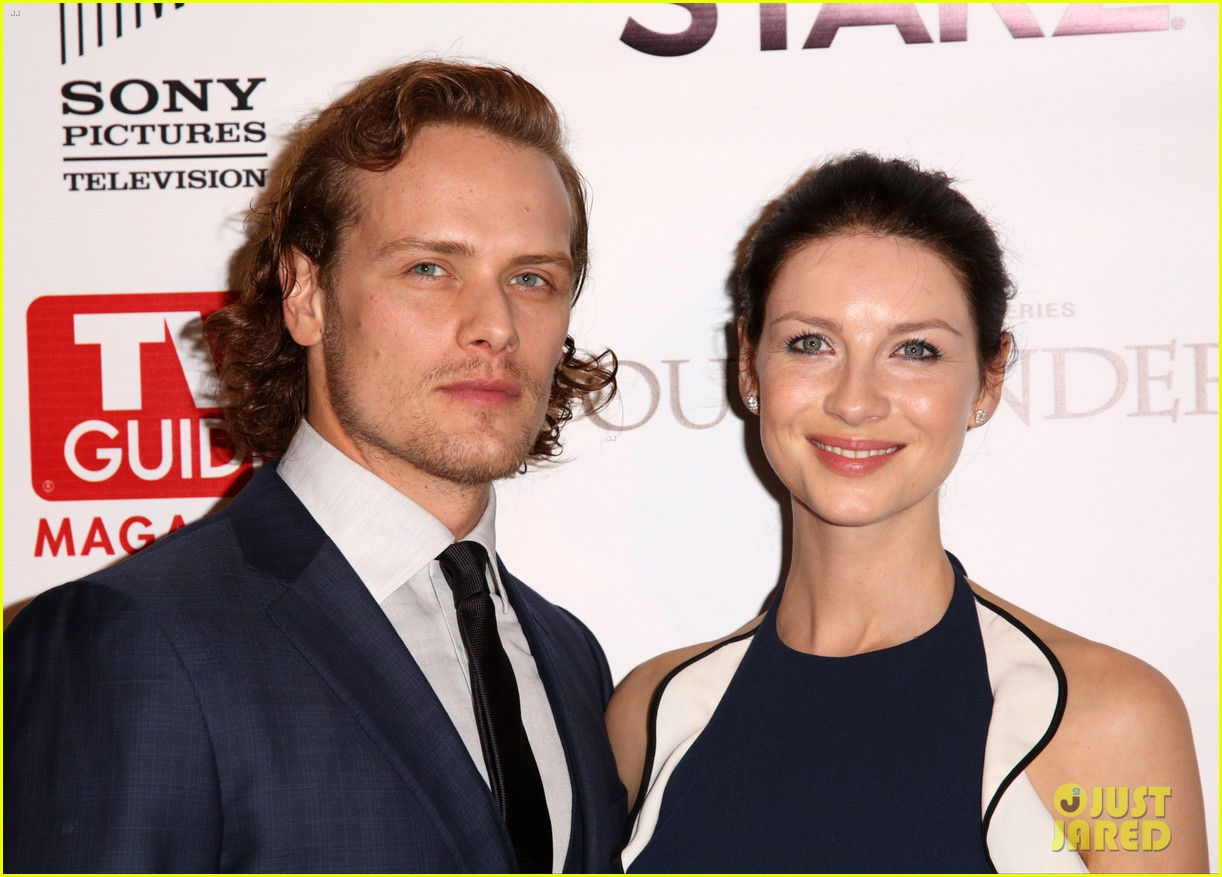 sam heughan caitriona balfe twitter exchange 083948523