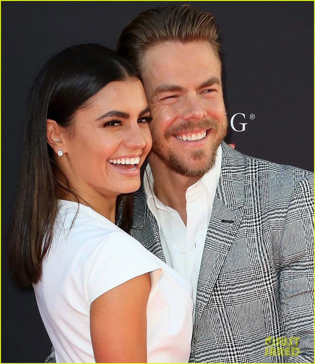 derek hough gets support from girlfriend hayley erbert at emmys choreography 043947450