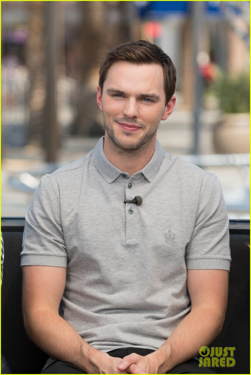 nicholas hoult is proud of ed skrein for dropping out of hellboy 033947963