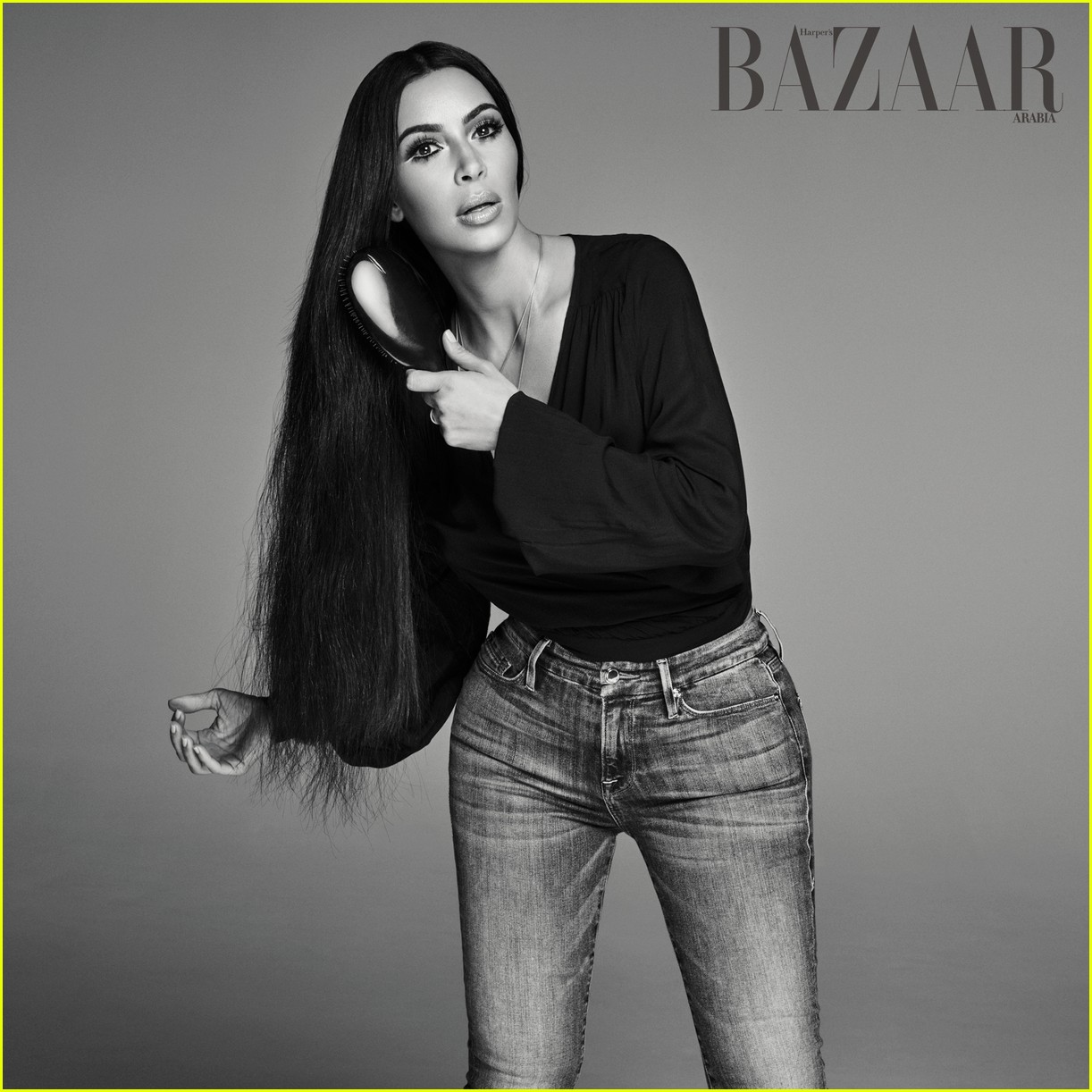 Kim covers kardashian harpers bazaar arabia recommend to wear for on every day in 2019