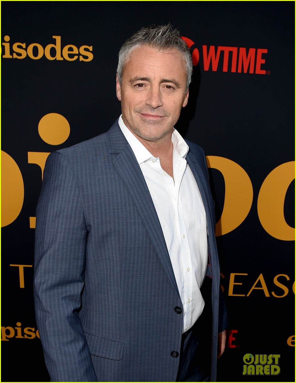 matt leblanc joins episodes cast at final season party 023942493