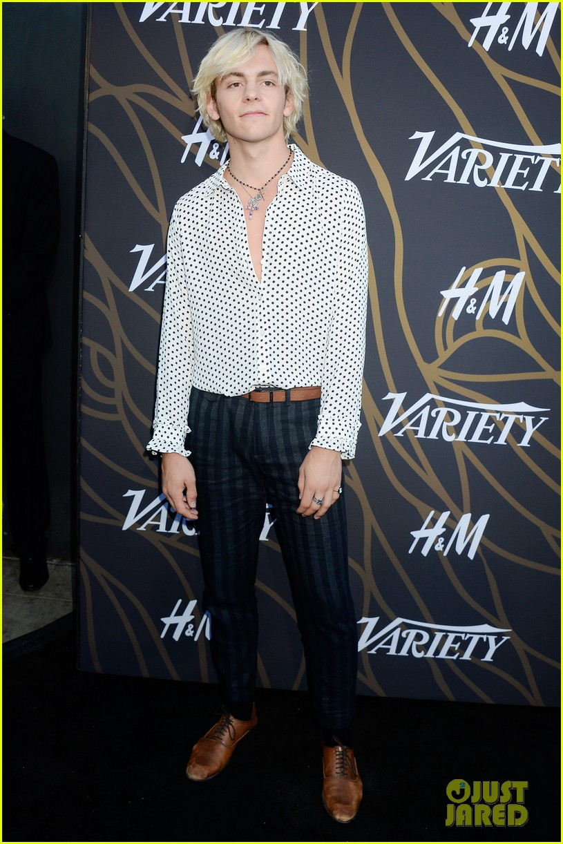 ross lynch courtney eaton yara shahidi variety event 223940073