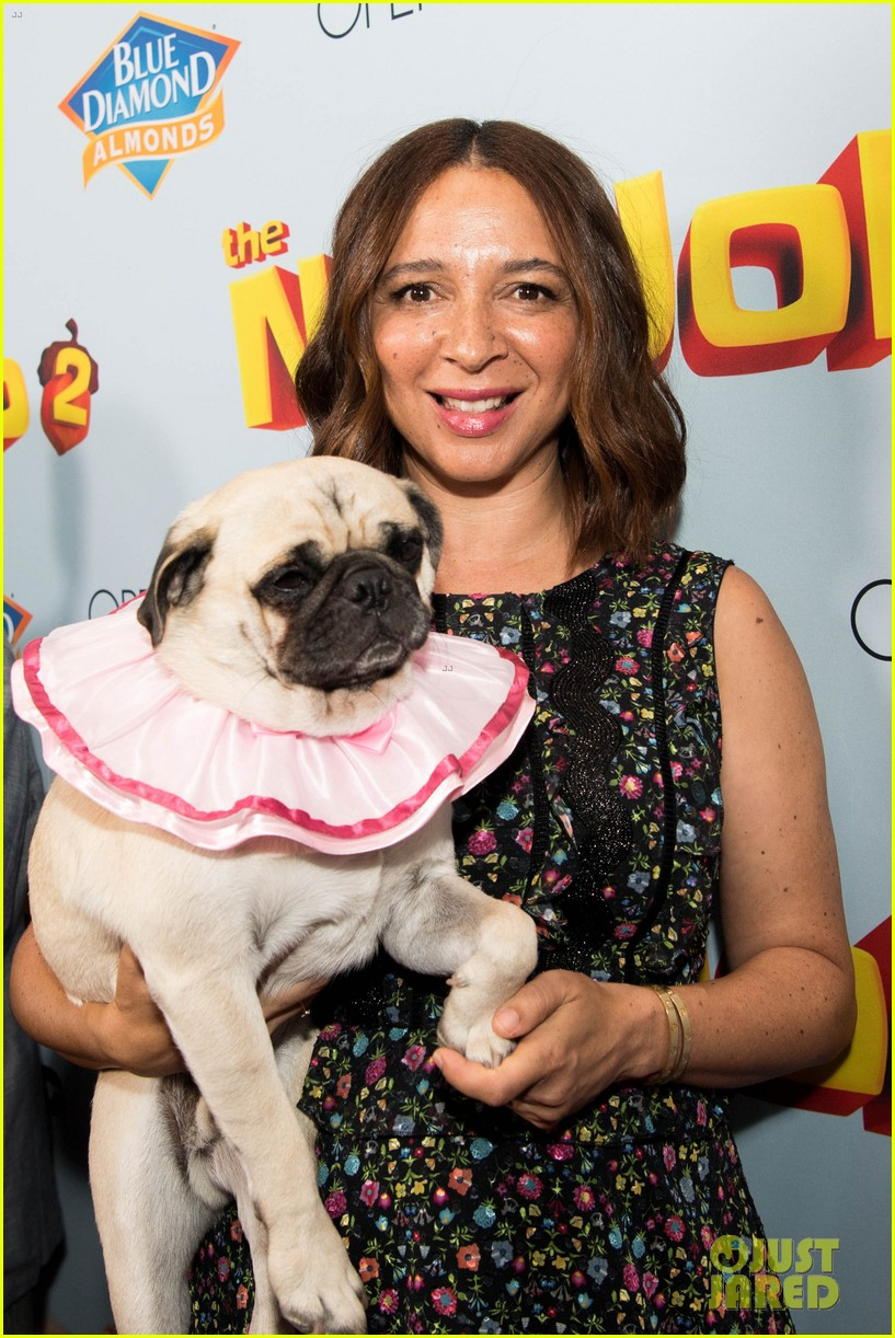 maya rudolph will arnett premiere nut job in la 023938077