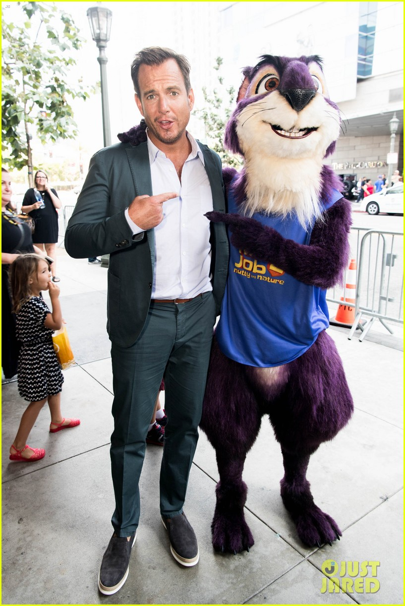 maya rudolph will arnett premiere nut job in la 033938078