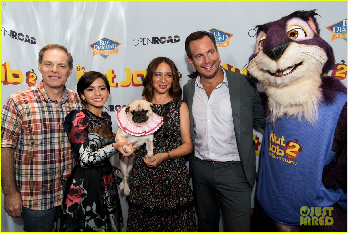 maya rudolph will arnett premiere nut job in la 053938080