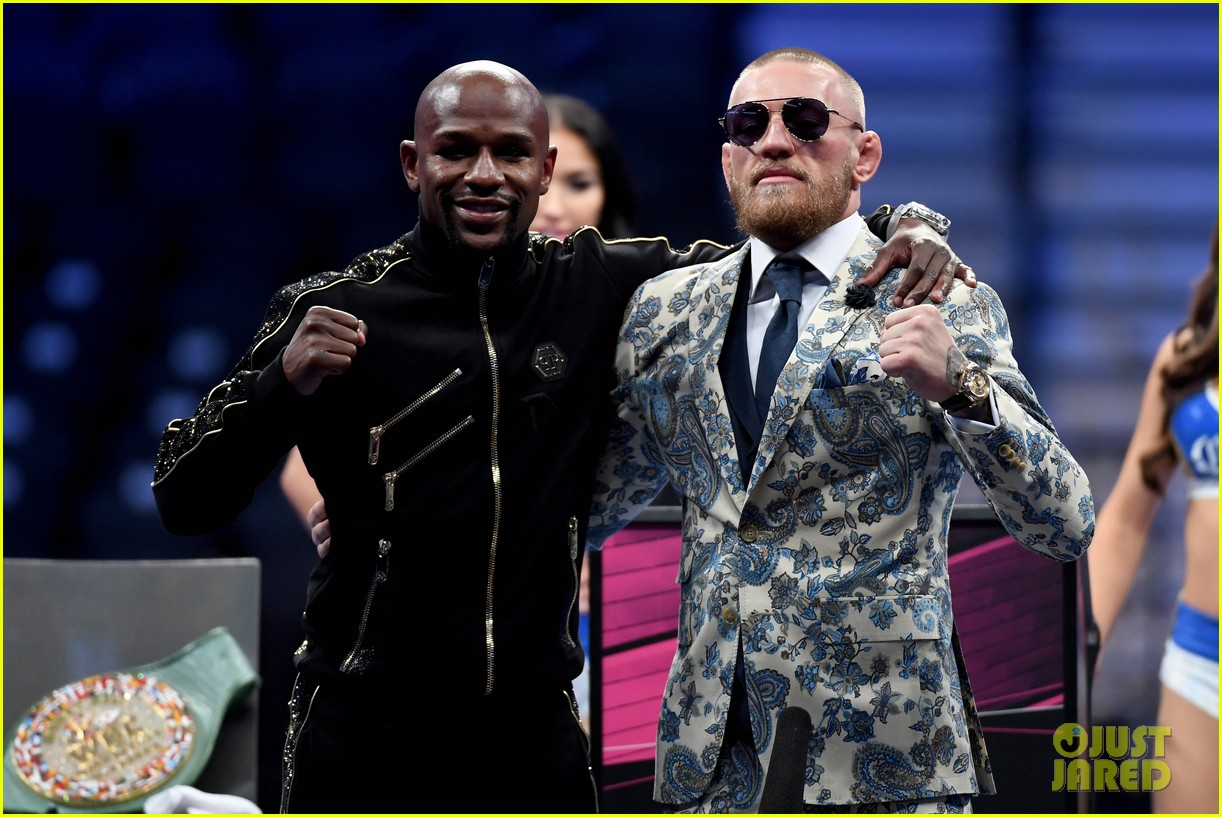 floyd mayweather conor mcgregor press conference 013946149