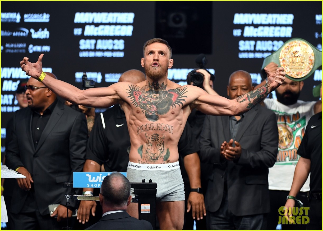 conor mcgregor leaves little to the imagination in tight underwear 243945691
