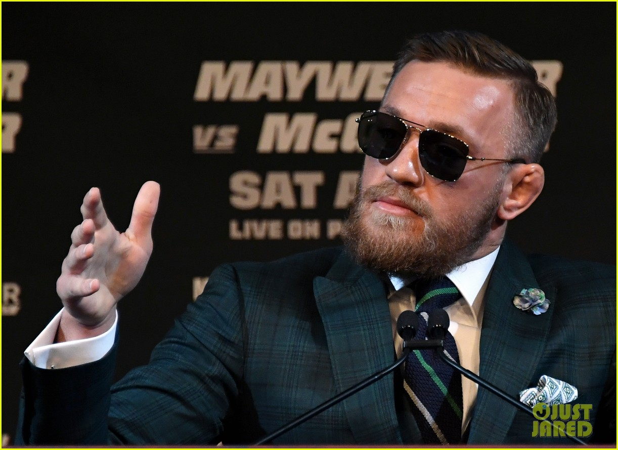 conor mcgregor floyd mayweather jr face off ahead of big match we are more than ready 153945117