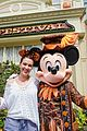 alyssa milano takes 6 year old son to disney world for birthday 01
