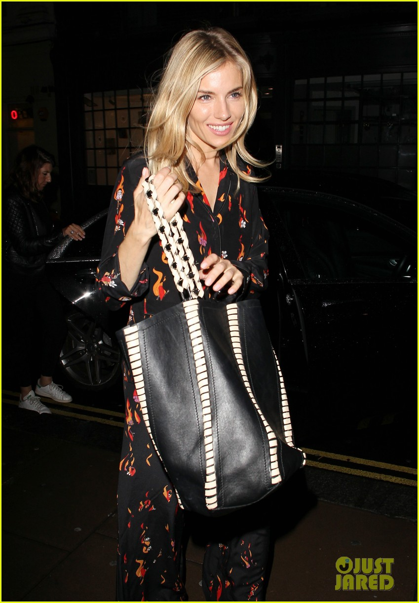 sienna miller is all smiles arriving at dinner in london 043940617