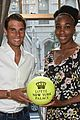 rafael nadal venus williams face off at lotte new york palace badminton tournament 13