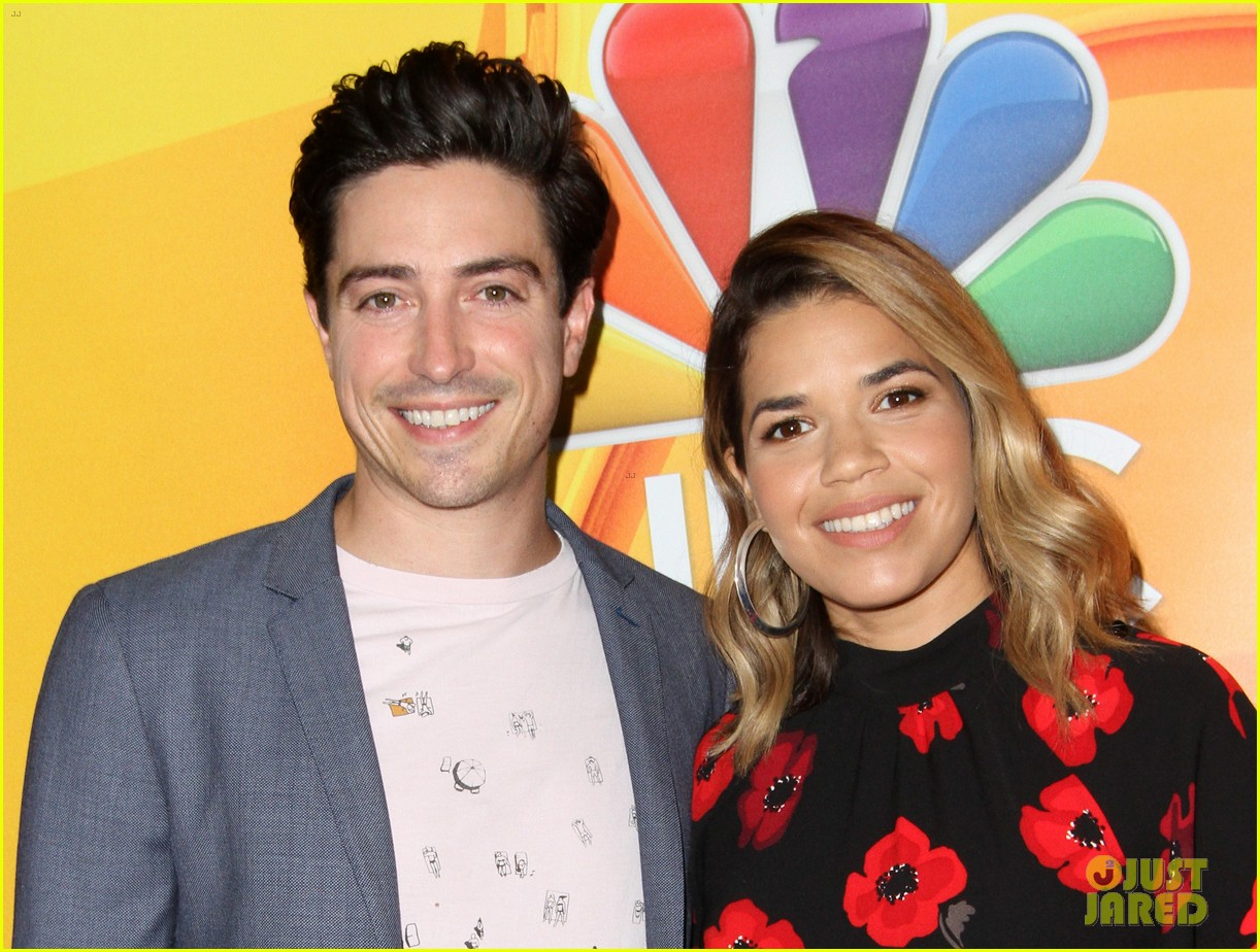 nbc stars step out in full force for networks tca panel 483937625