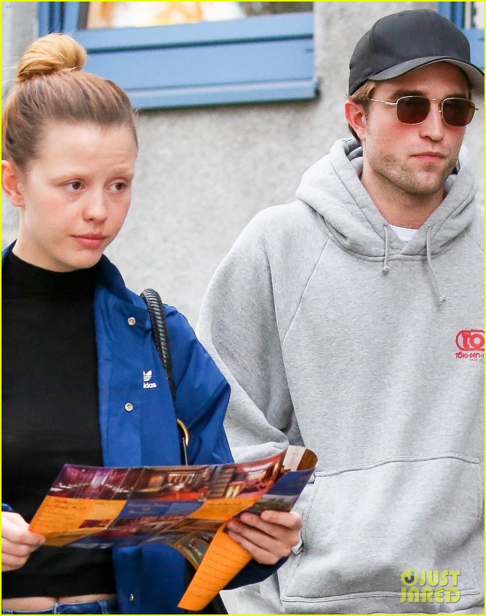 robert pattinson hangs out with co star mia goth in germany 103944514