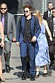robert pattinson arrives in style for jimmy kimmel live 01