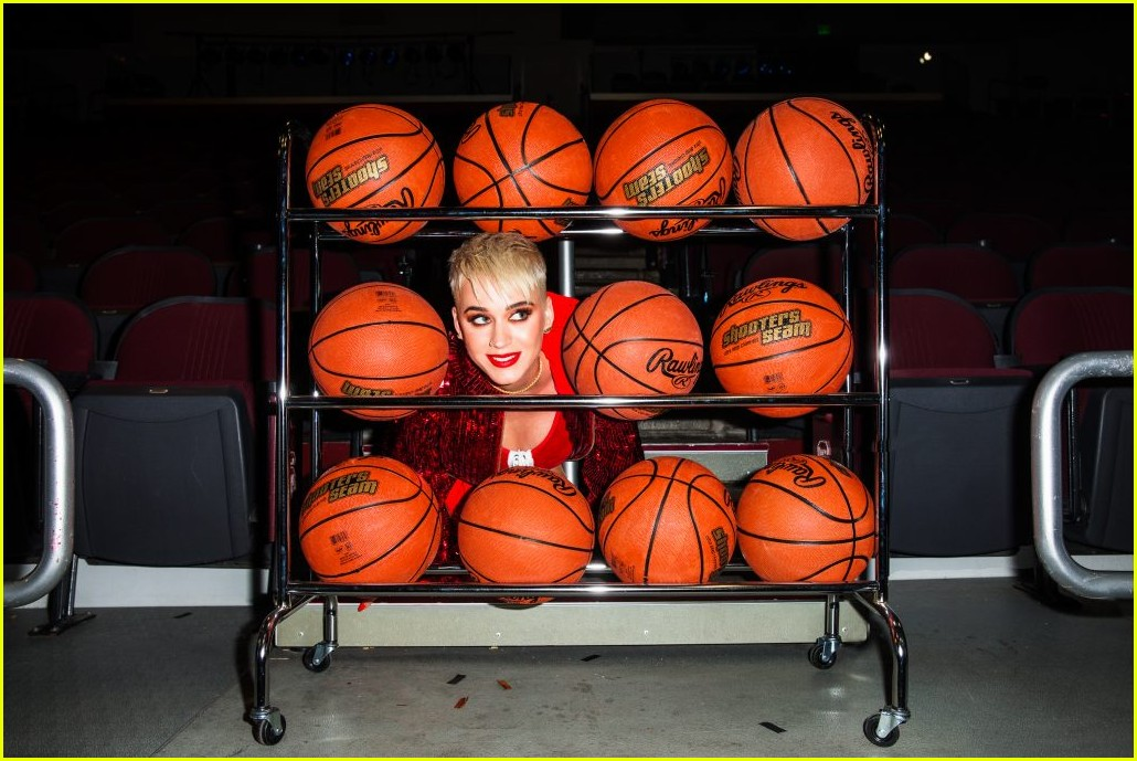 katy perry swish swish video behind the scenes photos 213945026