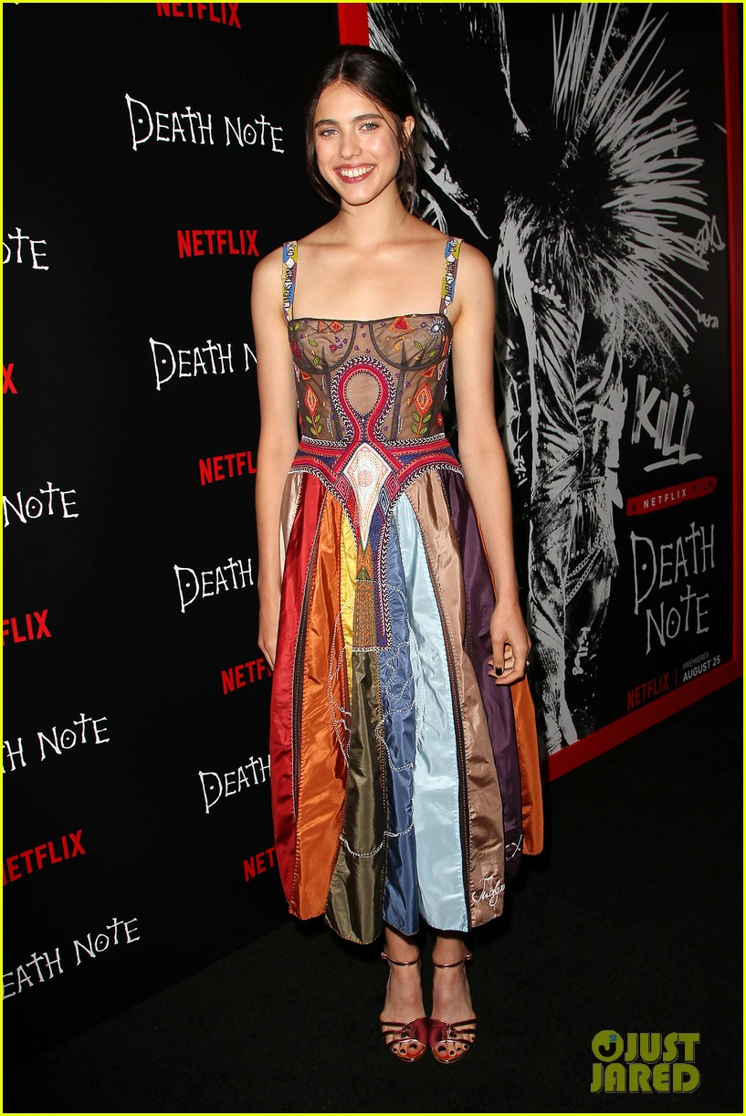 3e667cb2 Nat Wolff & Margaret Qualley Pair Up at 'Death Note' Screening ...