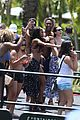 the bachelorettes rachel bryan share poolside kiss in miami 17