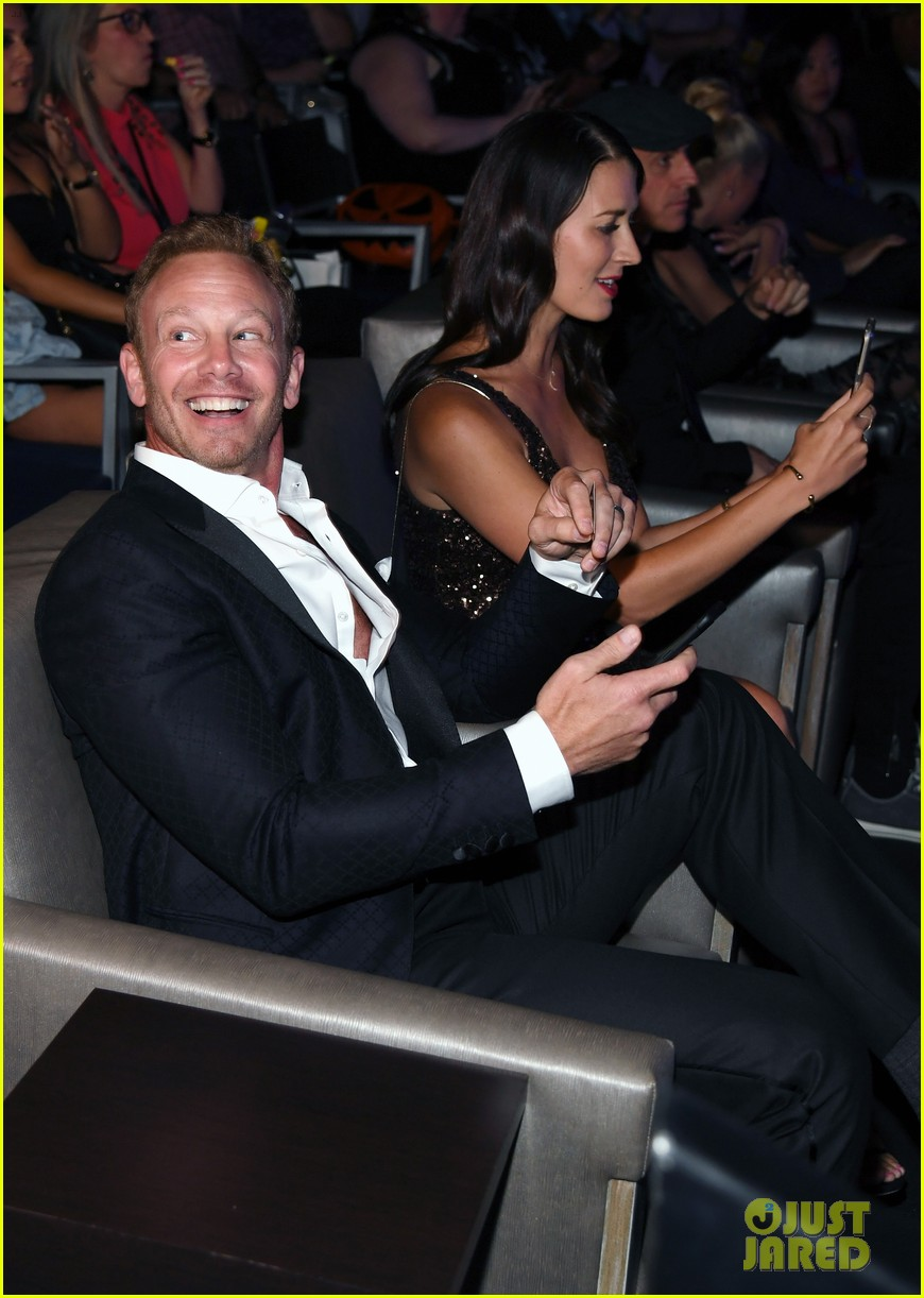 ian ziering tara reid attend sharkando 5 premiere in vegas 053938520