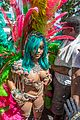 rihanna wears barely there outfit for crop over festival 09