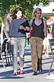 emma roberts wears leopard print jumpsuit for bff lunch date 06