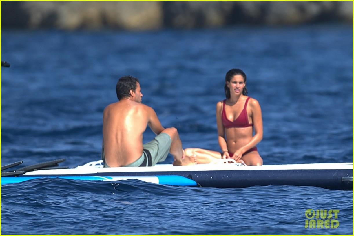 sara sampaio stuns in red bikini with oliver ripley in ibiza 043939482