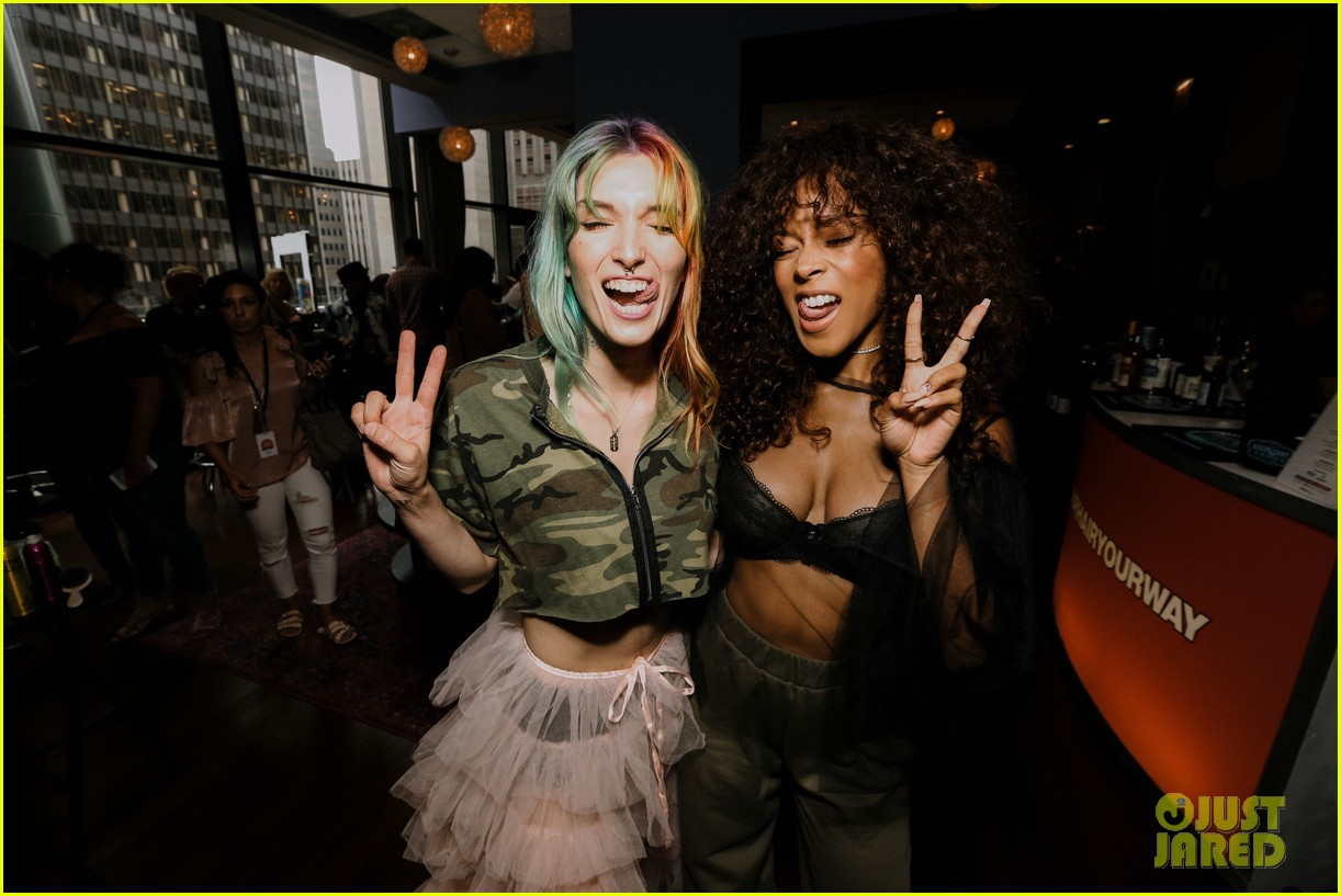 serayah parties during lolla weekend 113938069