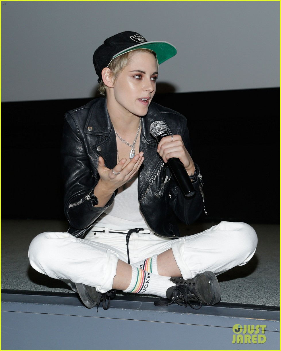 kristen stewart screens her movie come swim at the moma in nyc 013948368