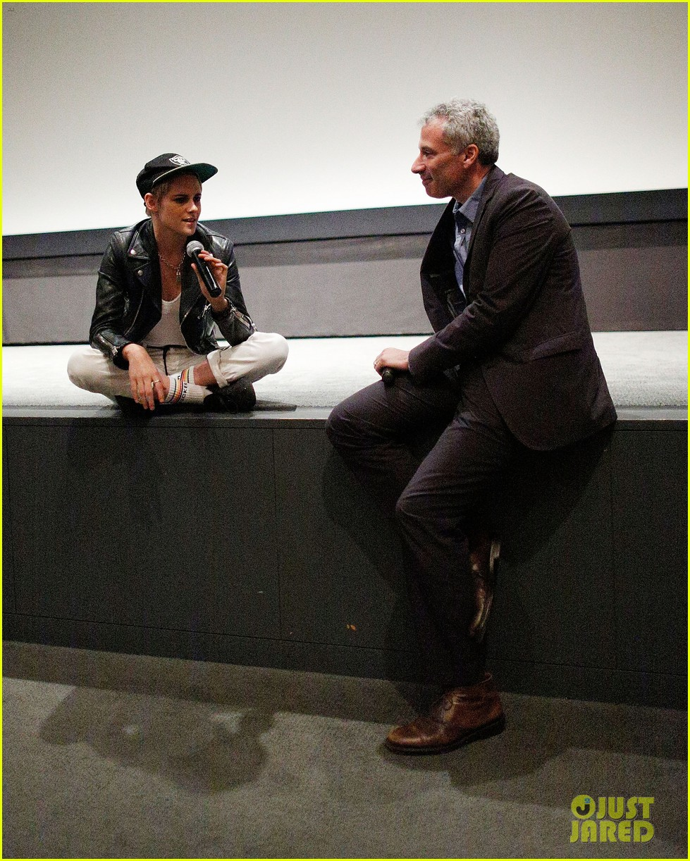 kristen stewart screens her movie come swim at the moma in nyc 123948379