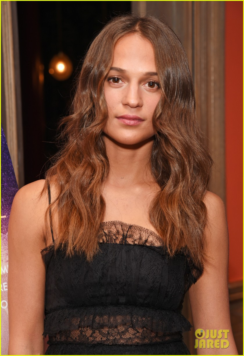 Alicia Vikander Steps Out For VIP Screening Of 'Tulip