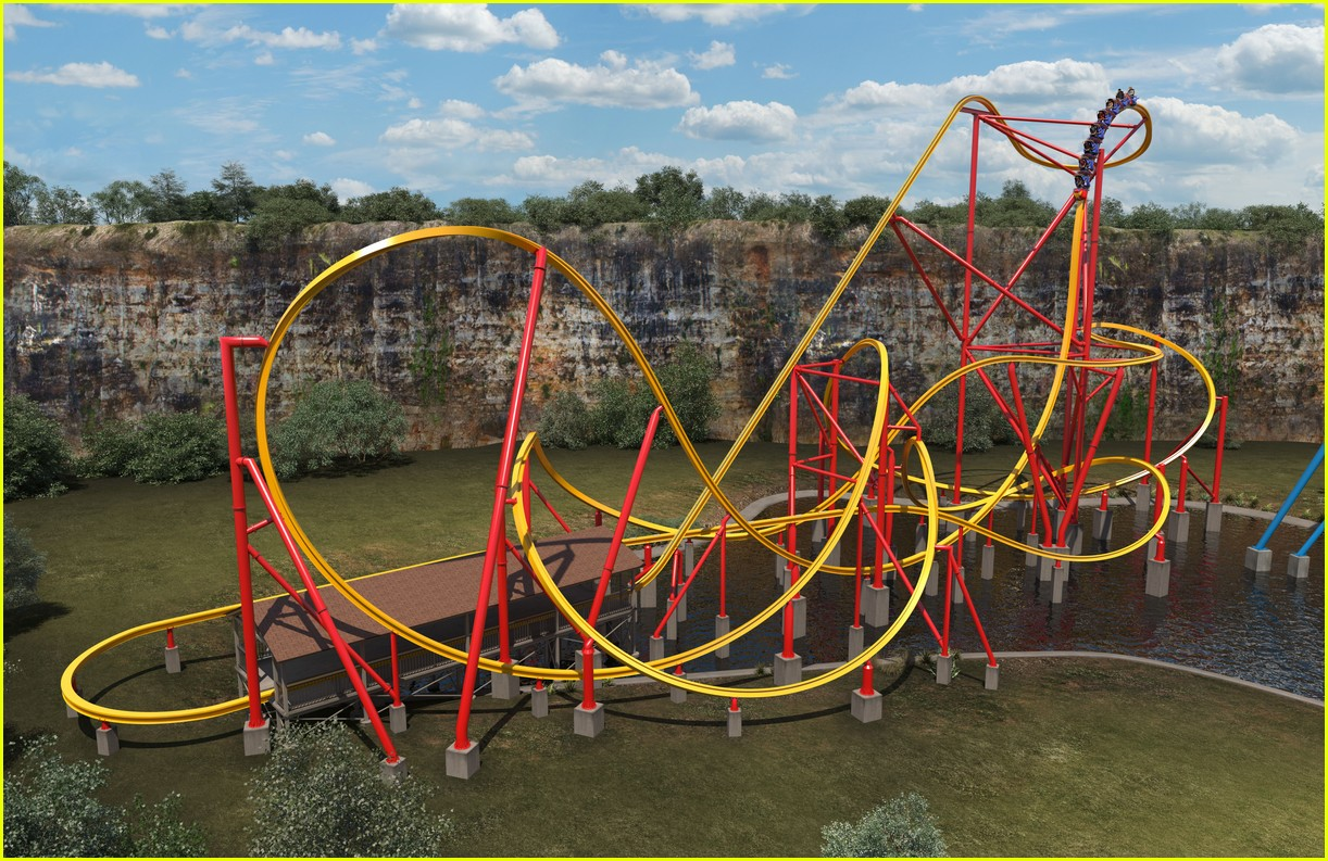 wonder woman roller coaster at six flags will make history 013937502