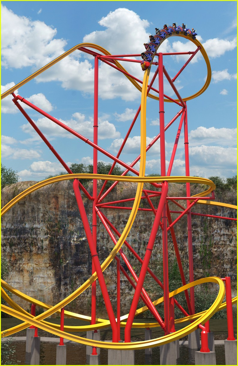 wonder woman roller coaster at six flags will make history 023937503