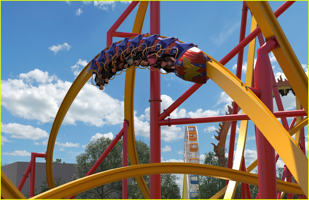 Wonder Woman Roller Coaster At Six Flags Will Make