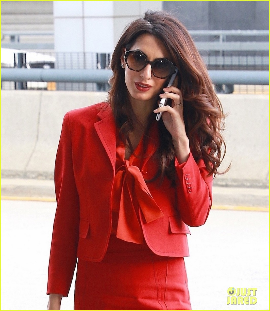 amal clooney is back at work after welcoming twins 023962299