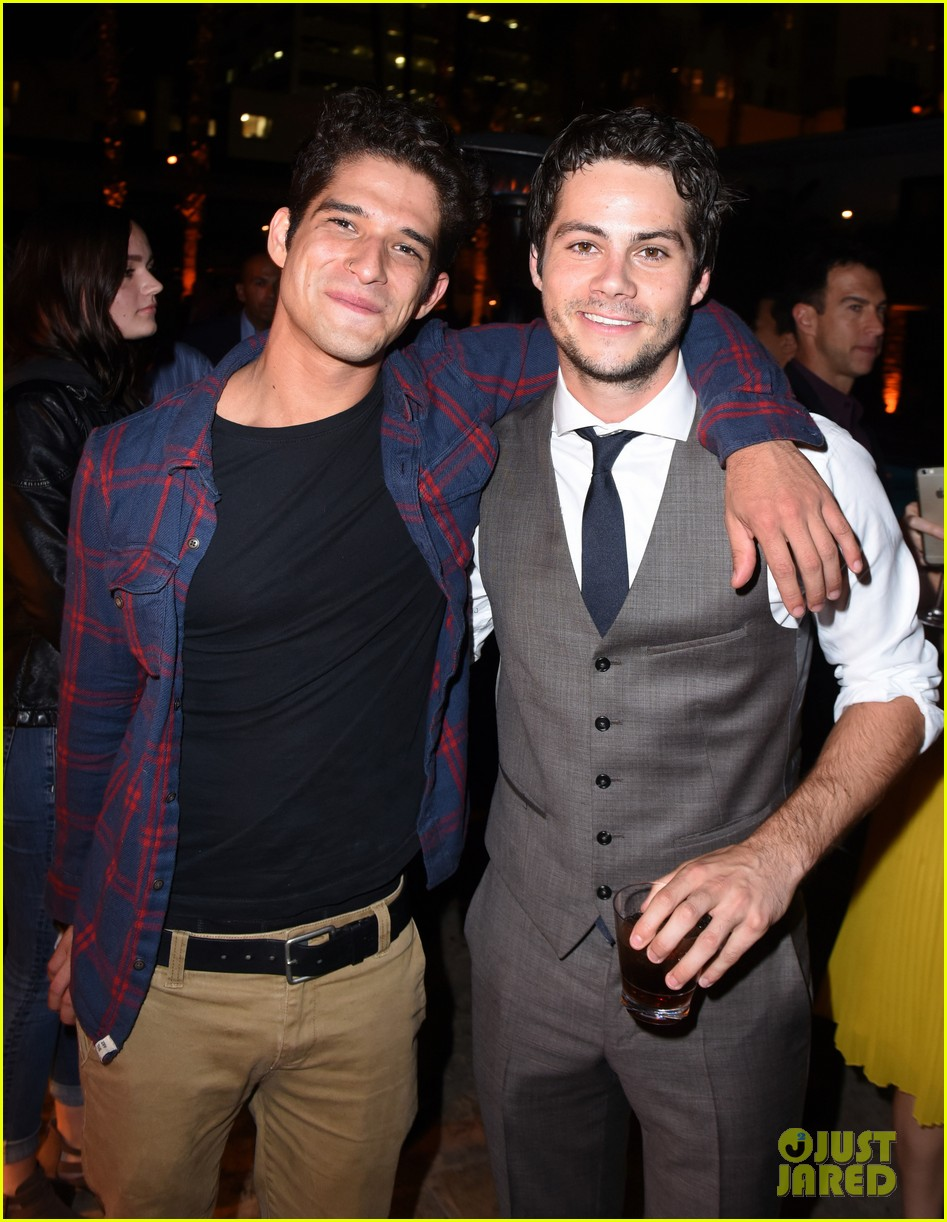 tyler posey supports dylan obrien at american assassin la premiere 013956535