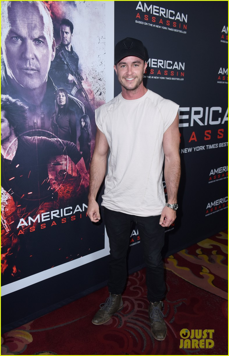 tyler posey supports dylan obrien at american assassin la premiere 023956536