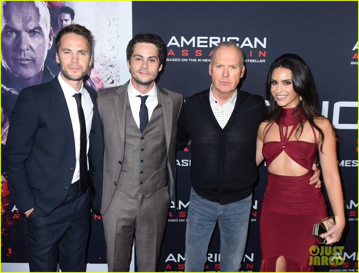 tyler posey supports dylan obrien at american assassin la premiere 053956539