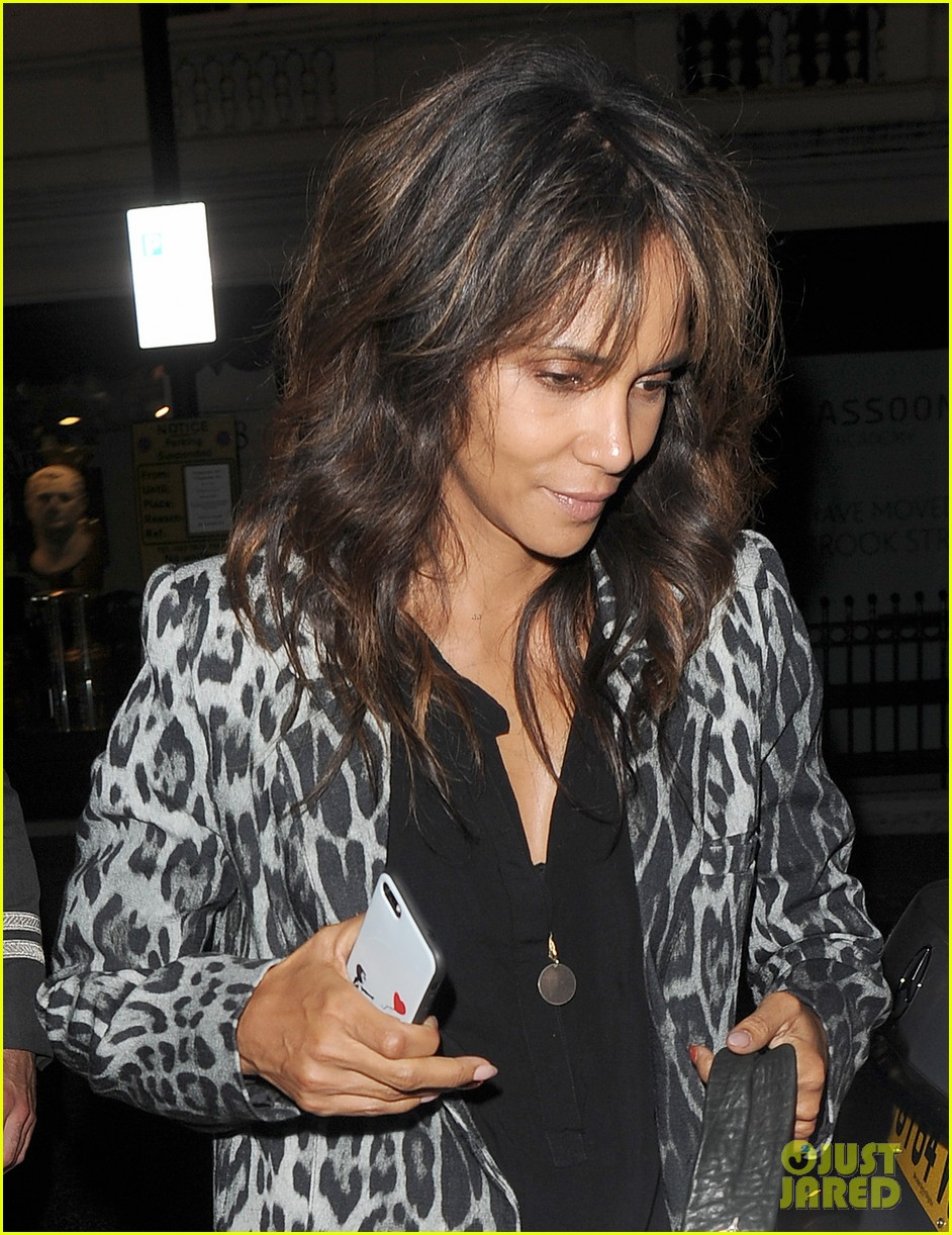 halle berry rocks leopard print for dinner in london 023959778