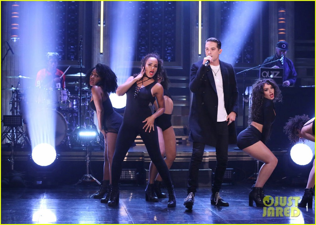 cardi b joins g eazy for no limit performance on the tonight show 023965198