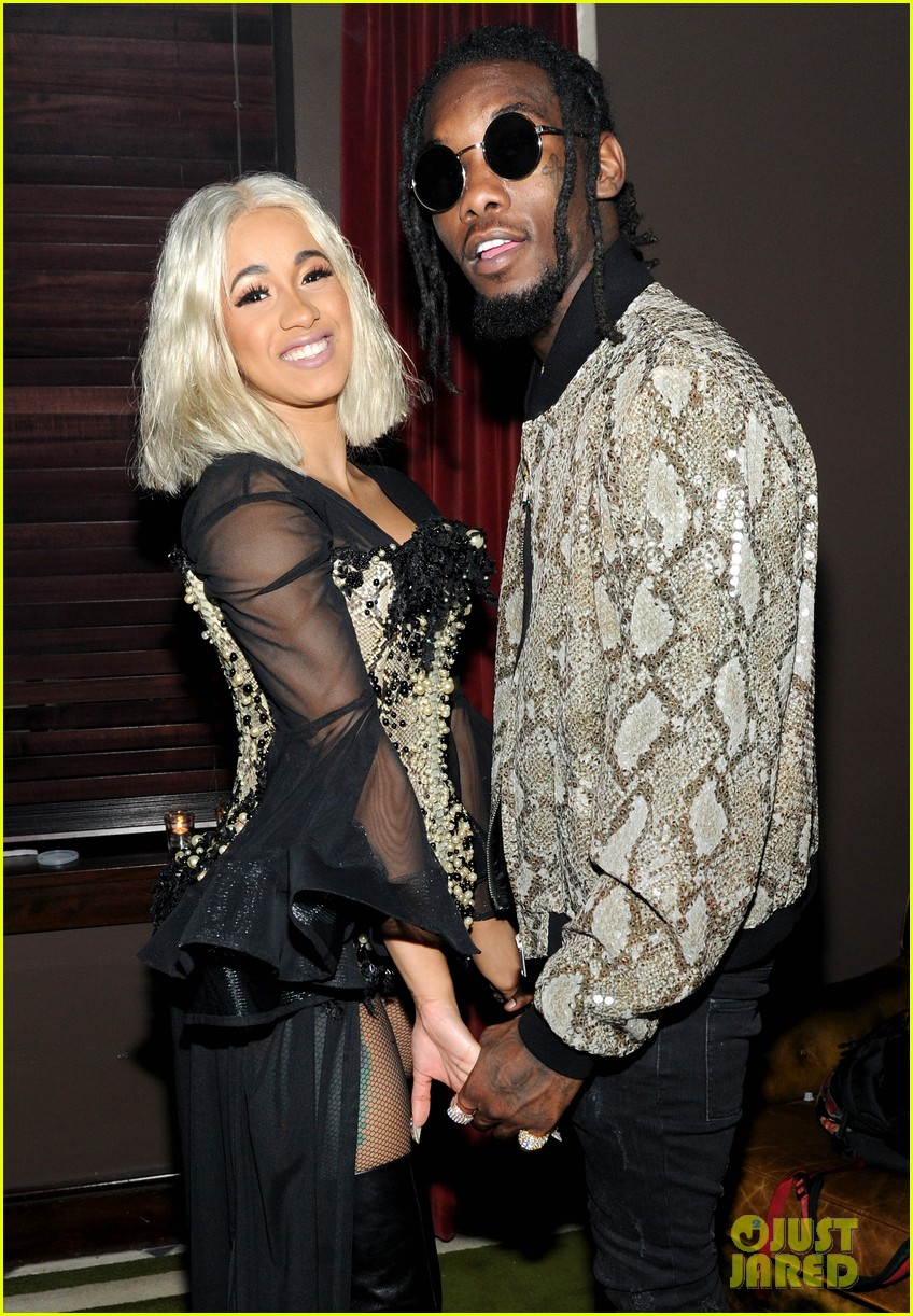 cardi b offset couple up at new york fashion week events 313956187