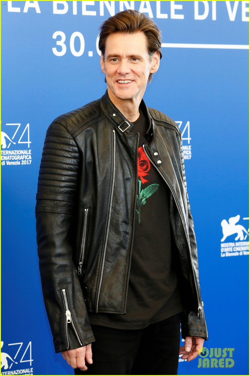 jim carrey premieres documentary at venice film festival 083950639