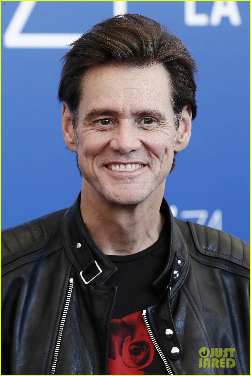 jim carrey premieres documentary at venice film festival 133950644
