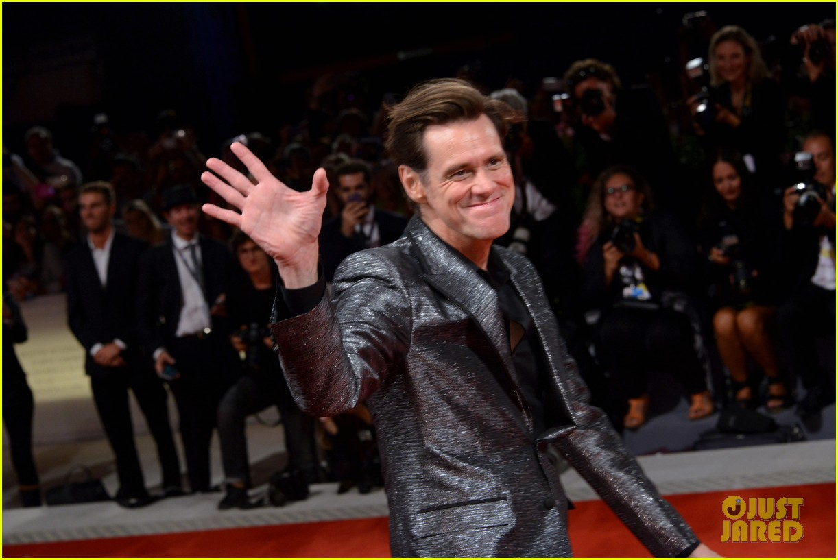 jim carrey premieres documentary at venice film festival 173950648