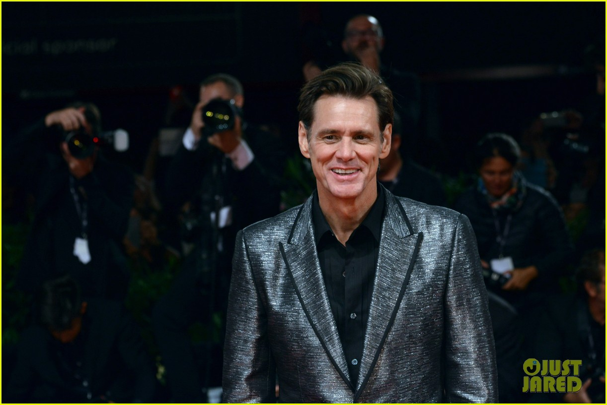 jim carrey premieres documentary at venice film festival 193950650