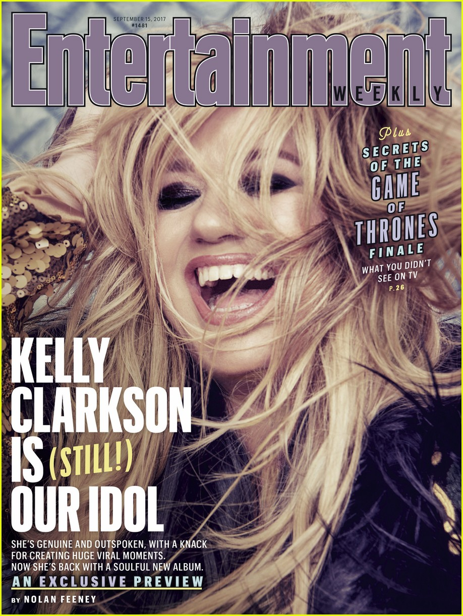 kelly clarkson entertainment weekly 013952093