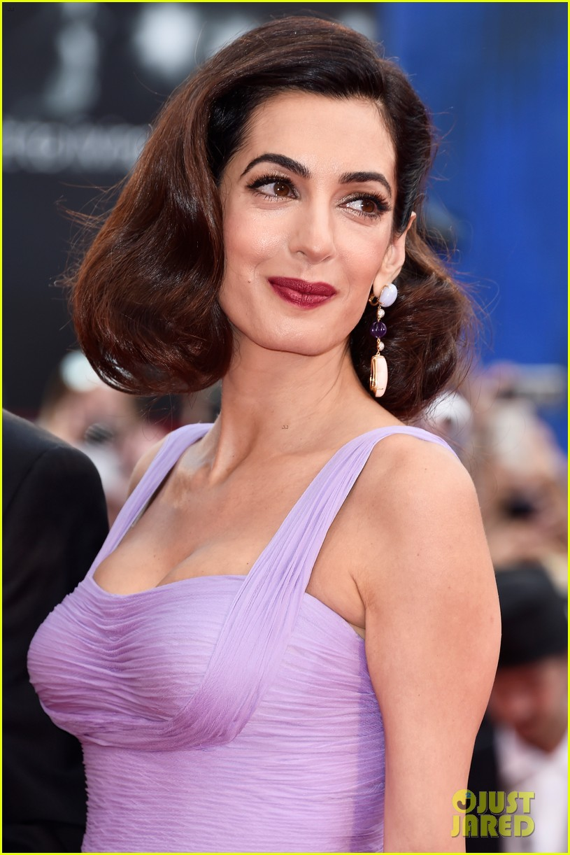 george amal clooney make first red carpet appearance since becoming parents 023949470